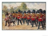 The Band of the Irish Guards March Through Hyde Park - Harry Payne