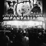 "Audiences Gathered Outside Theater For the Brazilian Premiere of Walt Disney's ""Fantasia"" - Hart Preston"