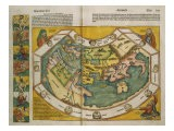 Map of Europe and the World, 1493 - Hartmann Schedel