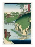 River of Waterfalls, Oji', from the Series 'One Hundred Views of Famous Places in Edo' - Hashiguchi Goyo
