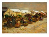 The Vegetable Market - Hayez Francesco