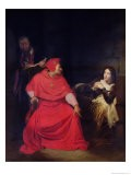 Joan of Arc (1412-31) and the Cardinal of Winchester in 1431, 1824 - Hippolyte Delaroche