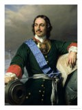 Peter I the Great (1672-1725) 1838 - Hippolyte Delaroche