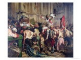The Conquerors of the Bastille Before the Hotel De Ville in 1789, 1839 - Hippolyte Delaroche