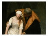 The Execution of Lady Jane Grey, 1833 - Hippolyte Delaroche