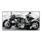 Harley Davidson Tableau Poster Décoration Photo Moto Custom Biker USA ARIMAJE