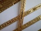 galon or carlhian, broderie, couture, costume, théatre, scrapbooking, gold braid