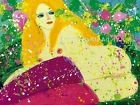 Walasse Ting 'Butterfly Love' 1979 - FINE ART PRINT, Picasso, Fantasy