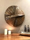 Metal Wall Art  - Metal Sculpture - Hand Crafted Reclaimed Whisky Barrel Steel