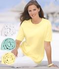 Pack Of 3 Women's T-shirts Size 22 New From Damart Catalogue