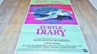 TURTLE DIARY   ! affiche cinema dessin andy warhol design modele tres rare