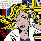 roy lichtenstein m maybe warhol basquiat haring pop art