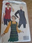 "8432 PATRON""VOGUE VINTAGE 3 VERSIONS GILET CHASUBLE  CREATION VERY EASY 36 AU 40"