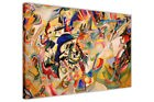 COMPOSITION VII BY WASSILY KANDINSKY PRINTS ABSTRACT CANVAS WALL ART PICTURES