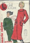 PATRON ROBE  FEMME MARIE CLAIRE TAILLE 36 40 44  SPECIAL COUTURE N°29 457  NEUF