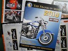 FRANKLIN MINT HARLEY-DAVIDSON CATALOGUE PRODUCTION 2010 38 PAGES  COULEURS NEUF