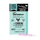 *TAMPON TRANSPARENTS FLORILEGES DESIGN SWEETY CLEAR SCRAPBOOKING CARTERIE DECO*