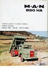 CAMION MAN PORTEUR  850 HA 172 CH CH  CATALOGUE
