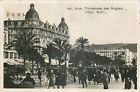 CARTE PHOTO NICE PROMENADE DES ANGLAIS HOTEL RUHL ANIMES