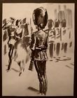 JOSE LUIS REY VILA (1900-1983) LA GARDE ROYALE ANGLAISE ROYAL GUARDS 1955 (21)