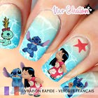 💅 Nail Art - Disney Lilo et Stitch - Sticker Ongles Autocollant Eau