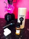 Car Diffuser + Perfume Scented Fragrance Oil + FREE Wax Melt Cup