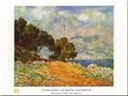 Reproduction d'art Cap Martin de Monet, Claude 80 x 60cm Chambre Décor Poster