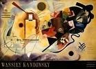 Wassily Kandinsky - Jaune Rouge Bleu Poster Reproduction (120x87cm) #6632