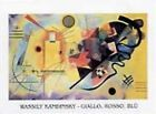Wassily Kandinsky - Jaune Rouge Bleu IV Poster Reproduction (80x60cm) #36536
