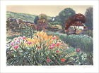 Rolf Rafflewski - Lithographie originale - Monet, Giverny, L'atelier
