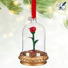 Decoration ROSE BELLE ET LA BETE 2017 OrnamenT Sketchbook Disney Décoration noel