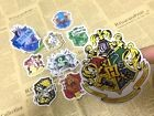 9 x Harry Potter house logo sticker decal scrapbook party bag candy bag