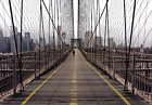 Papier Peint Photo INTISSÉ-(289V) BROOKLYN BRIDGE-350x260cm 7 lés-New York