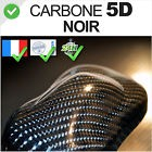 Feuille Carbone 5D noir Autocollant Thermoformable, glossy finish wrap Sticker
