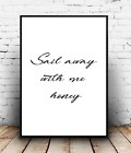 Wall Print Home Decor Quote Interior Design Hanging Picture Minimal
