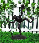 Gardenwize Garden Patio Yard Porch Dancing Animal Frog Ornament Statue Decor