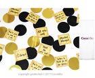 Coco&Bo - Harry Potter Quotes Table Confetti - Hogwart Houses Party Decoration