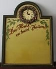Bar sign Carved design Shopping list Decor Carved wood sign wall art wall clock