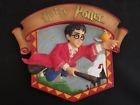 Small Harry Potter Ceramic 3-D Wall Plaque decoration. 2000. Quidditch
