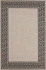 Tapis Moderne Shaggy Islas Look Sisal Mäander gris argent divers Taille