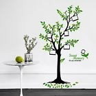 Walplus Wall Stickers Green Tree Removable Self-Adhesive Mural Art Decals Vin...