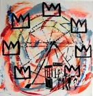 TABLEAU PEINTURE pop street art USA painting canvas barbican basquiat bansky
