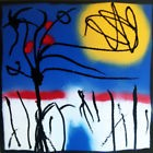 racines sun TABLEAU pop street ART abstrait paint canvas signed french arbres