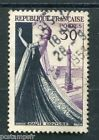 FRANCE 1953,  timbre 941, HAUTE COUTURE PARIS, FASHION, oblitéré, VF used STAMP