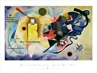 Wassily Kandinsky - Jaune Rouge Bleu VII Poster Reproduction (80x60cm) #1906