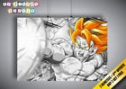 Poster Dragon Ball Z Sangoku Kamehameha Manga ANIME Wall Art