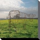 Pink Floyd - Wireframe Cow Poster Toile Sur Châssis Tableau (40x40cm) #81342