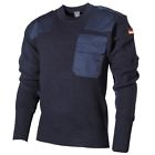 Pull Over Tricot Laine Militaire Armée Allemand Travail Securite