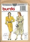 Ancien PATRON COUTURE BURDA n° 4902 -  ROBE habillée - 2 versions - T.36-38-40