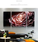 Metal Wall Art Contemporary Rose Sculpture Abstract Painting Home Decor